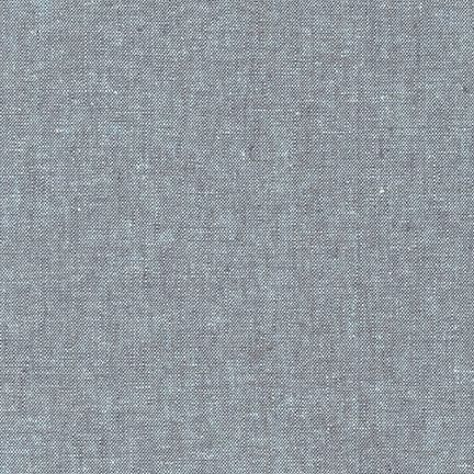 Robert Kaufman Fabrics ~ Essex Yarn Dyed Linen ~ Shale