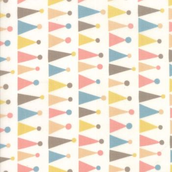 Moda Fabric ~ Corner of 5th and Fun ~ Hats Ivory