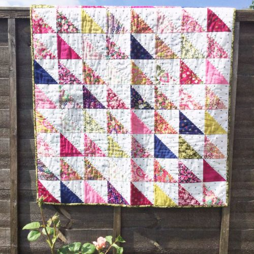 'Make it' Sarah's Half Square Triangle Quilt