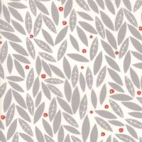 Moda Fabric ~ Merrily ~ Holly in Chill