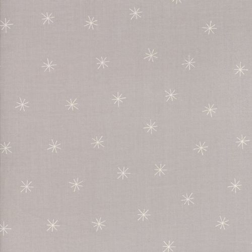 Moda Fabric ~ Merrily ~ Snowy Stars in Chill