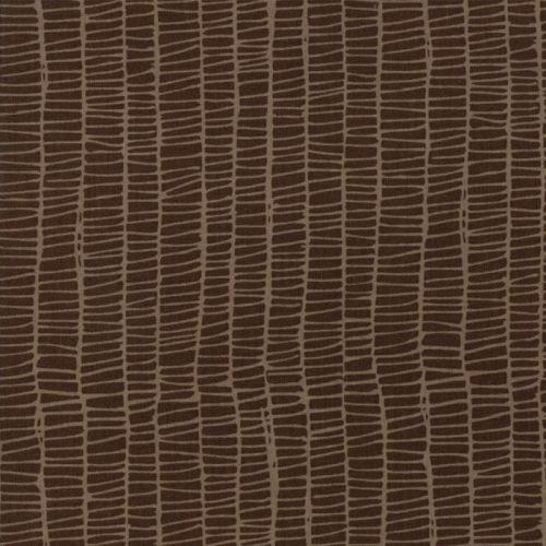 Moda Fabric ~ Merrily ~ Weave in Chocolate