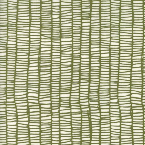 Moda Fabric ~ Merrily ~ Weave in Holly
