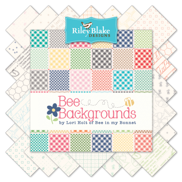 Bee Backgrounds by Lori Holt