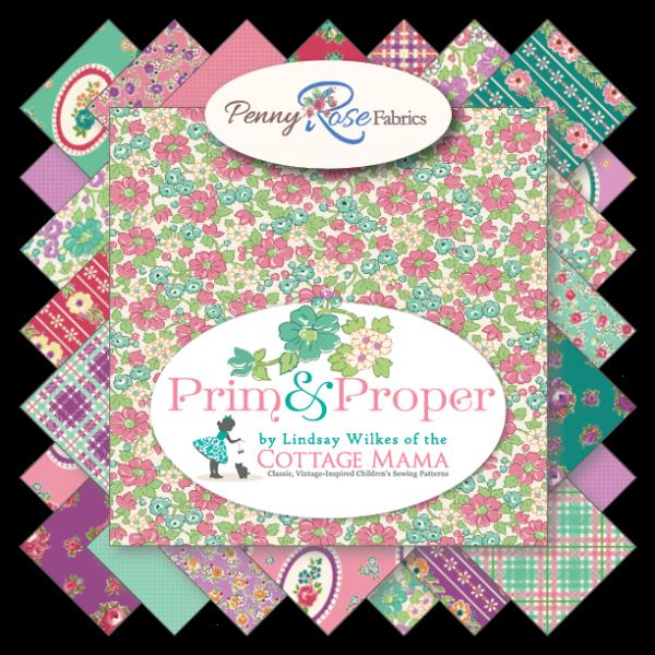 Penny Rose Fabrics ~ Prim & Proper