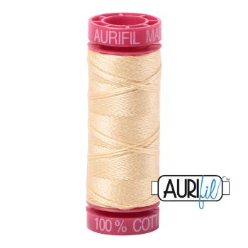 Aurifil ~ 12 wt Cotton ~ 2105 ~ Champagne