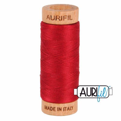 Aurifil ~ 80 wt Cotton ~ 2260 ~ Red Wine