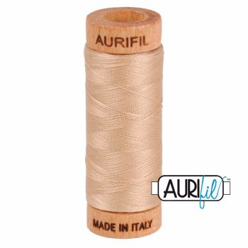 Aurifil ~ 80 wt Cotton ~ 2314 ~ Beige