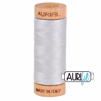 Aurifil ~ 80 wt Cotton ~ 2600 ~ Dove Grey