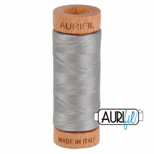 Aurifil ~ 80 wt Cotton ~ 2620 ~ Stainless Steel