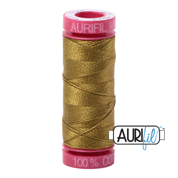 Aurifil ~ 12 wt Cotton ~ 2910 ~ Medium Olive