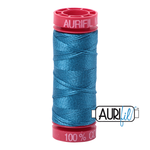 Aurifil ~ 12 wt Cotton ~ 1125 ~ Medium Teal
