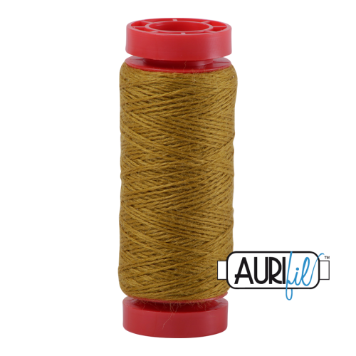 Aurifil ~ 12 wt Lana Wool ~ 8920 ~ Mustard Yellow