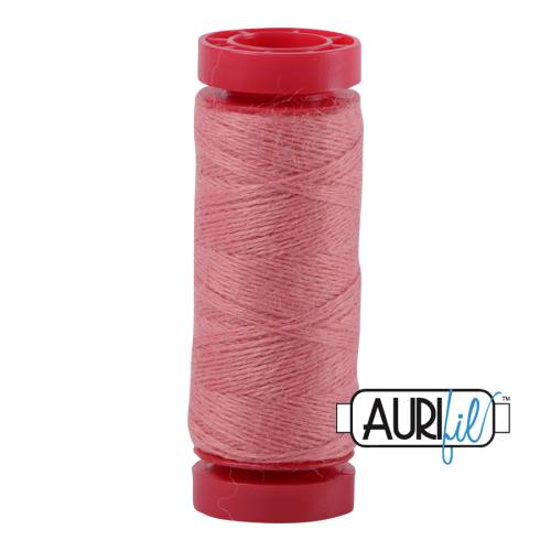 Aurifil ~ 12 wt Lana Wool ~ 8401 ~ Rose