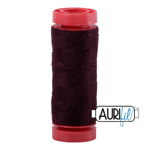 Aurifil ~ 12 wt Lana Wool ~ 8465 ~ Wine Red