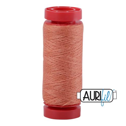 Aurifil ~ 12 wt Lana Wool ~ 8210 ~ Rosy Melon