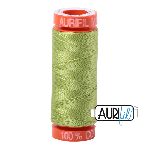 Aurifil ~ 50 wt Cotton ~ 1231 ~ Spring Green Small Spool