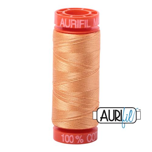 Aurifil ~ 50 wt Cotton ~ 2214 ~ Golden Honey Small Spool
