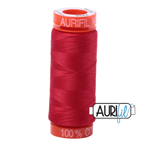 Aurifil ~ 50 wt Cotton ~ 2250 ~ Red Small Spool