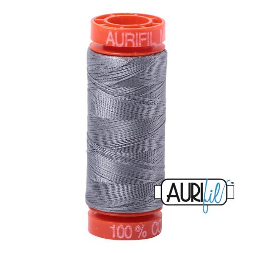 Aurifil ~ 50 wt Cotton ~ 2605 ~ Grey Small Spool