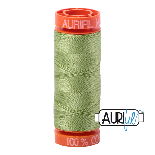 Aurifil ~ 50 wt Cotton ~ 2882 ~ Light Fern Small Spool