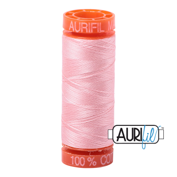 Aurifil ~ 50 wt Cotton ~ 2415 ~ Blush Small Spool