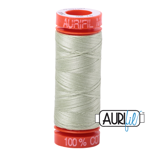Aurifil ~ 50 wt Cotton ~ 2908 ~ Spearmint Small Spool