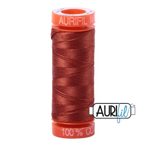 Aurifil ~ 50 wt Cotton ~ 2350 ~ Copper Small Spool