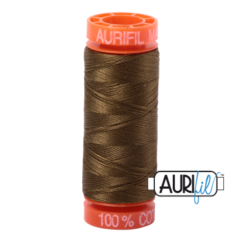 Aurifil ~ 50 wt Cotton ~ 4173 ~ Dark Olive Small Spool