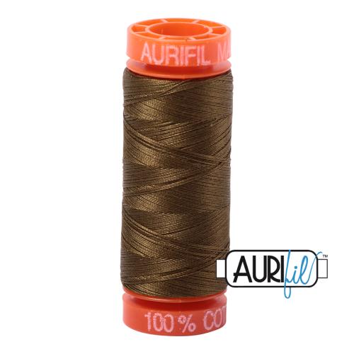 Aurifil ~ 50 wt Cotton ~ 4173 ~ Dark Olive Small Spool