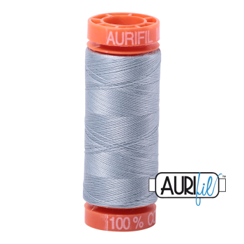 Aurifil ~ 50 wt Cotton ~ 2612 ~ Artic Sky Small Spool