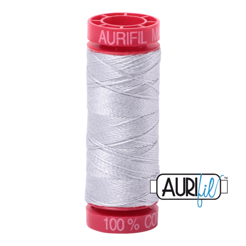 Aurifil ~ 12 wt Cotton ~ 2600 ~ Dove Grey
