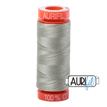 Aurifil ~ 50 wt Cotton ~ 2902 ~ Light Laurel Green Small Spool
