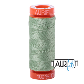 Aurifil ~ 50 wt Cotton ~ 2840 ~ Loden Green Small Spool