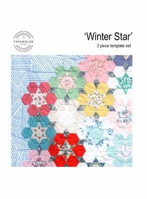 Treehouse Textiles ~ Acrylic Templates ~ Winter Star