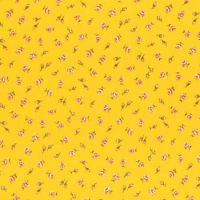 Lecien Fabric ~ Old New 30's 2017 ~ Buds Yellow