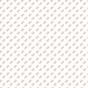 Riley Blake Fabric ~ Bee Backgrounds ~ Bicycle Grey