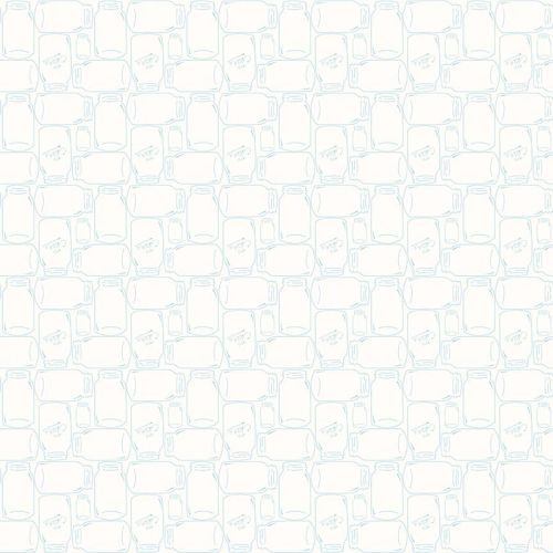 Riley Blake Fabric ~ Bee Backgrounds ~ Cannin Jar Aqua