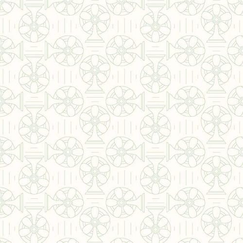 Riley Blake Fabric ~ Bee Backgrounds ~ Cool Green