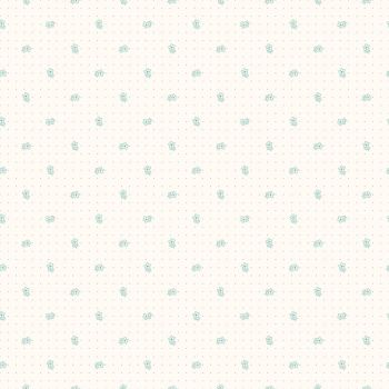 Riley Blake Fabric ~ Bee Backgrounds ~ Daisy Teal