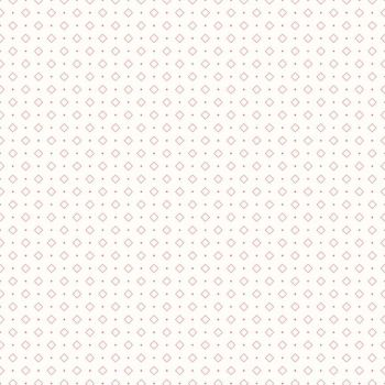 Riley Blake Fabric ~ Bee Backgrounds ~ Diamond Coral