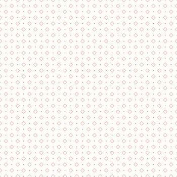Riley Blake Fabric ~ Bee Backgrounds ~ Diamond Coral