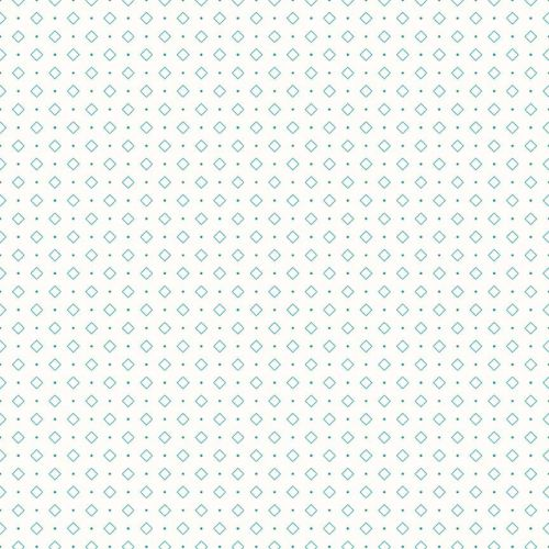 Riley Blake Fabric ~ Bee Backgrounds ~ Diamond Turquoise