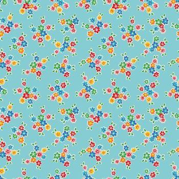 Riley Blake ~ Arbor Blossom ~ Bouquet Aqua