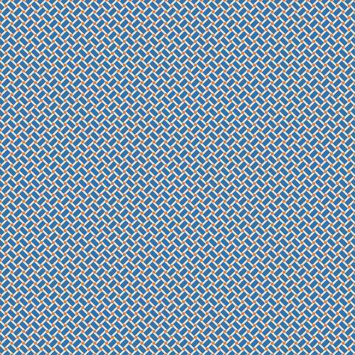 Riley Blake ~ Arbor Blossom ~ Geometric Blue