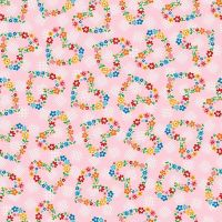 Riley Blake ~ Arbor Blossom ~ Hearts Pink