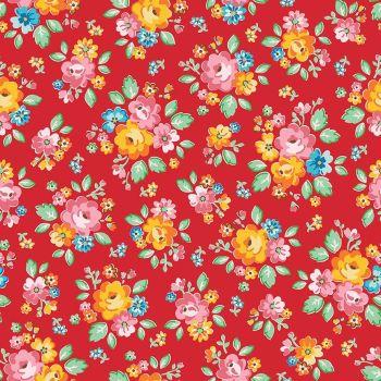 Riley Blake ~ Arbor Blossom ~ Main Red