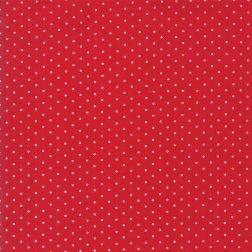 Moda Fabrics ~ Sugar Plum Christmas ~ Christmas Dot Candy Red