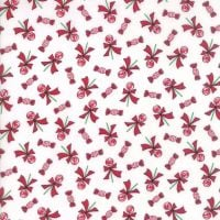Moda Fabrics ~ Sugar Plum Christmas ~ Lollipop Icicle White