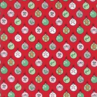 Moda Fabrics ~ Sugar Plum Christmas ~ Shiny Brites Candy Red